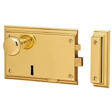 Baldwin Entrance Door Hardware 5636 Bevelled Rim Lock 5636 031