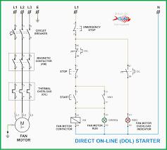 motor starter wiring diagram ansis me
