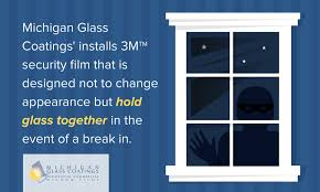 security window film by 3m can prevent break ins
