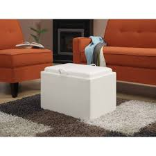 Small Storage Ottoman Ottoman Attractive Square Storage Ottoman With Tray Ikea