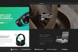 Best Websites For Interior Design Concepts by 20 Best Multipurpose Html5 Css3 Website Templates 2017 Colorlib