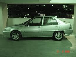 new proton saga or second hand car