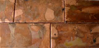 interior fresco studios copper backsplash kitchen backsplash
