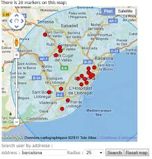 draw a radius on a map knowledge base advanced map templating