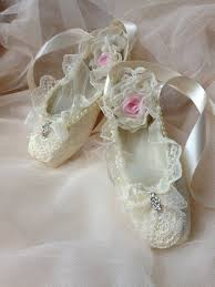 paper mache ballet shoes home decor room decor ivory shoes