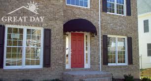 Fabric Door Awnings Doors Window Awnings Poly Sensational Design Ideas 22 On Home