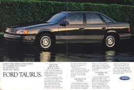 read the history of the ford taurus automobile
