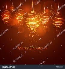 Christmas Light Balls For Trees by Magic Golden Christmas Tree Balls On Stock Vector 516035656