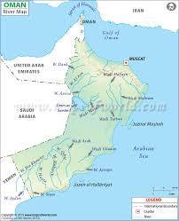River Map Oman River Map