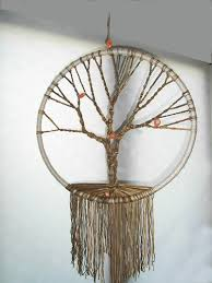 my macrame tree of crafts catchers