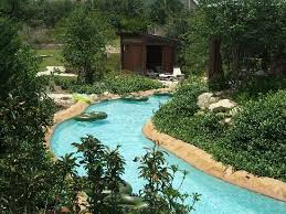 Backyard Pool With Lazy River Lazy River Pool View Picture Of Hyatt Wild Oak Ranch San