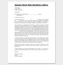 hardship letter template 10 for word pdf format