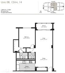 55 Harbour Square Floor Plans Residences On Hollywood Beach Condo In Florida