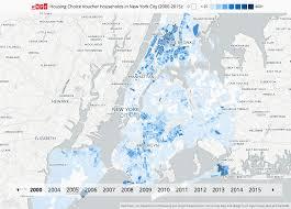 Williamsburg Brooklyn Map Housing Choice Voucher Households In New York City 2000 2015 Wnyc