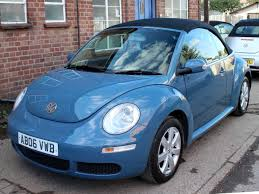 2006 vw beetle convertible 2 0 china blue black leather automatic