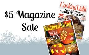 cooking light subscription status 5 subscriptions cooking light or southern living magazine