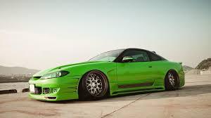 nissan 240sx jdm wallpaper cars nissan silvia s15 green jdm wallpaper 105020