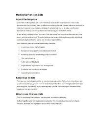 30 professional marketing plan templates template lab