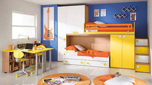 bedroom bunk bed with stairs have storage space fit for small