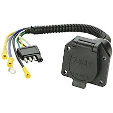 amazon com tow ready 20321 4 flat to 7 way flat pin connector