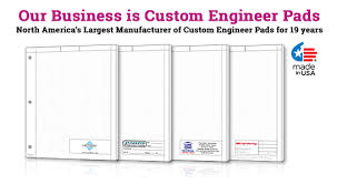 custom engineer graph paper pads printpps