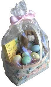 Ideas To Wrap A Gift - wrapping gift baskets with one of our favorite products mesh