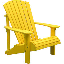 Recycled Plastic Furniture Luxcraft Deluxe Recycled Plastic Adirondack Chair Plastic
