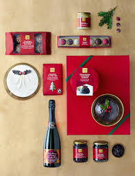 classic christmas gift box with fizz pre order m u0026s