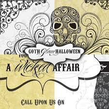 Gothic Halloween Wedding Party Invitation by 76 Best Blinged Out Halloween Images On Pinterest Halloween