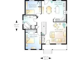 One Story House Plans With Basement Single Story Floor Plan U2013 Novic Me