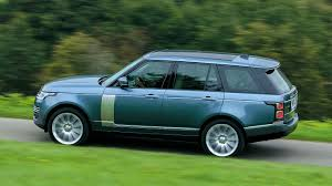 blue range rover new 2018 range rover will now drive on electric motoring research