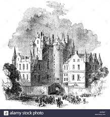 castles of scotland black and white stock photos u0026 images alamy