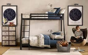cool bedroom designs for guys black painted wooden platform bed