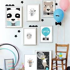 Home Decor Posters Aliexpress Com Buy Nordic Home Decor Bear Wall Posters Wall