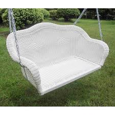 Caravan Sofa Covers International Caravan Resin Wicker Hanging Loveseat Swing Free