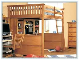 Bunk Bed With Desk And Dresser Loft Bed With Desk Underneath Bunk Beds College Loft Bed With