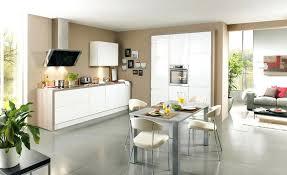idee cuisine blanche deco cuisine blanc et bois trendy salon design sol salon design