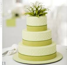 Wedding Cake Simple Green And White Wedding Cakes Amazing Bedroom Living Room