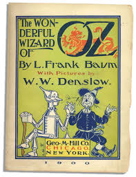 Map Of Oz Lot Detail L Frank Baum Signed And Dedicated U0027 U0027wonderful Wizard