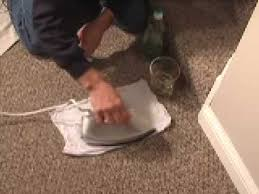 How To Remove Rug Stains Carpet Stain Cleaning Tip Youtube