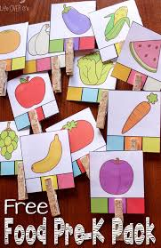 food games and activities free printables for preschoolers free