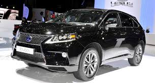 2013 lexus rx facelift parades new spindle grille and f sport