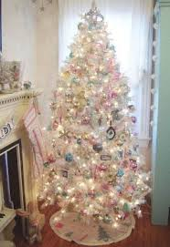 Shabby Chic Christmas Tree by 363 Best Pink U0026 Shabby Chic Christmas Images On Pinterest Shabby