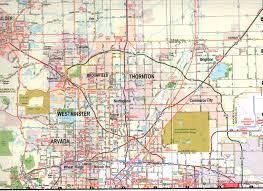 Denver Maps Denver E Z Fold