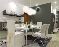 splendid simple modern stylish symmetry dining room interior igf usa