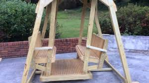 Porch Glider Swings Face To Face Glider Swing Youtube