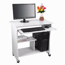 office table adjustable height ergonomic laptop desk with caster