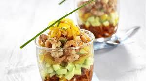 cuisiner crevette recette crevettes grises en verrine cuisiner crevette recettes