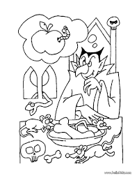 halloween vampire coloring pages dracula u0027s hungry coloring pages hellokids com