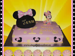 disney baby minnie mouse 1st birthday cake minnie mouse ears